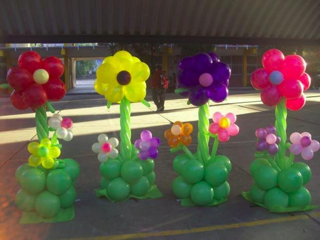 decoracion con globos cumpleaos de infantiles bodas