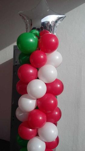 decoración con globos fiesta
