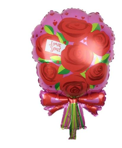 decoración con globos fiesta tematica flamingo rosa setx5 un