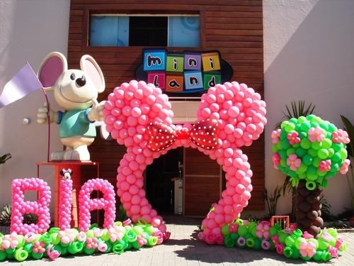 decoracion con globos fiestas
