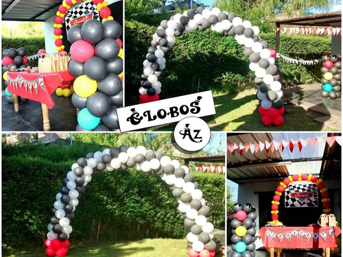 decoracion con globos globos