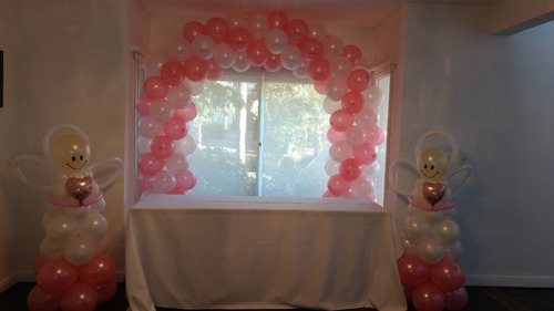 decoracion con globos, globos con