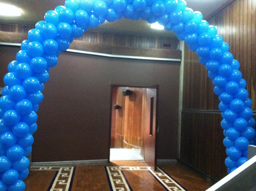 decoracion con globos, helio , materiales