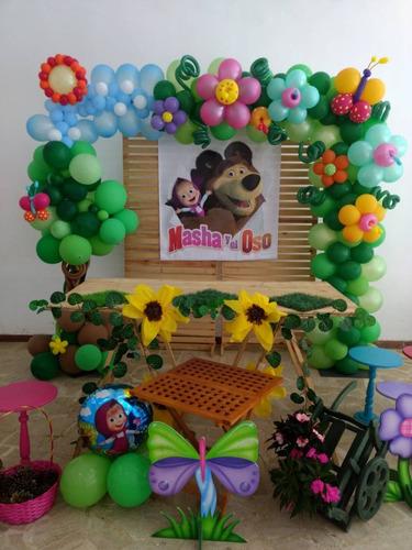 decoracion con globos infantiles bautizos baby shower y mas.