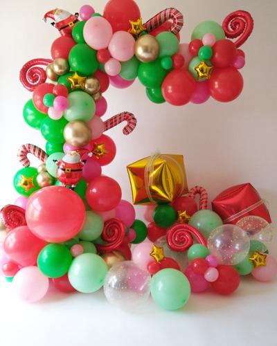 decoracion con globos organica vintage desconstruida