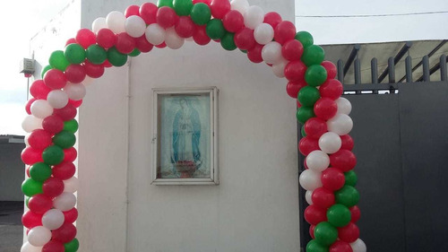 decoración con globos para tu fiesta