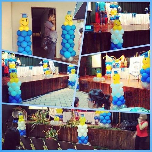 decoracion con globos, tu propones nosotros lo creamos