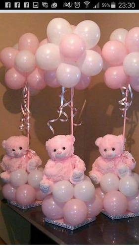 decoración con globos y más. .