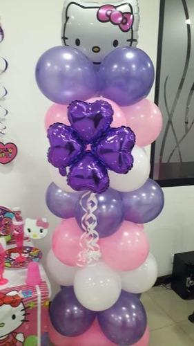 decoracion con globos y recreación para eventos