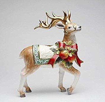 decoración cosmos regalos  victoriano cosecha reno figura,