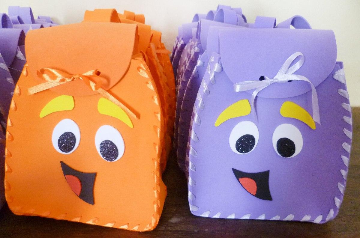 Decoraci n cotill n cumplea os mochilas goma eva for Decoracion de goma eva para cumpleanos