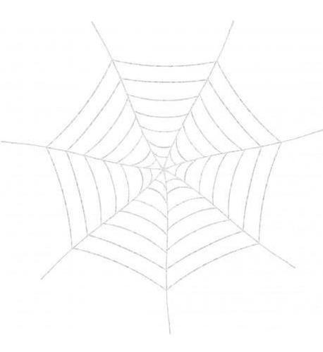 decoracion cotillon tela araña 5 pies 152 cm halloween