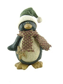 decoración craft salida del cartón piedra pingüino figura,