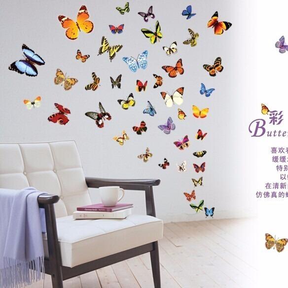 Decoracion Cuarto De Niña Mariposas - $ 549.00 en Mercado Libre