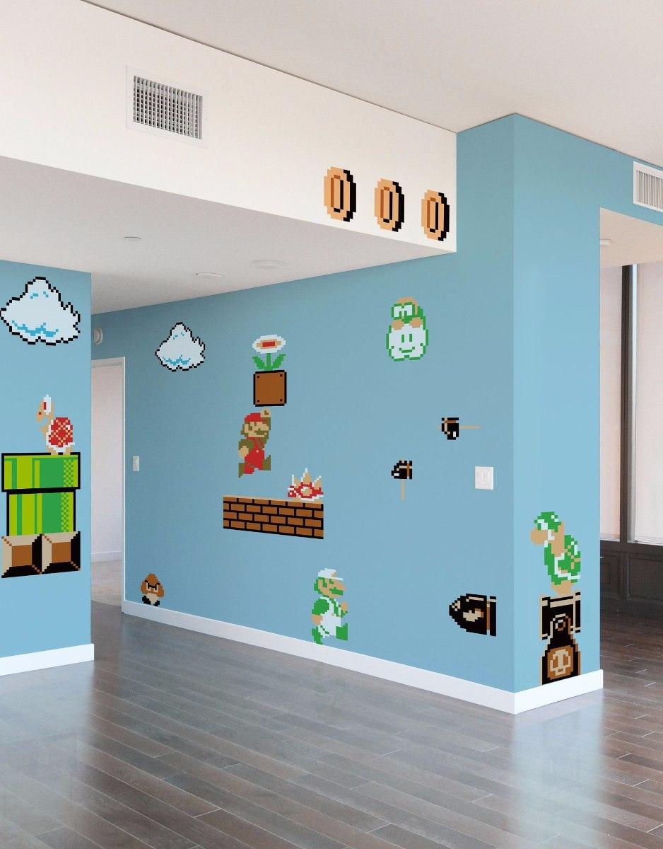 Decoracion cuartos mario bros clasico en for Escuela de decoracion