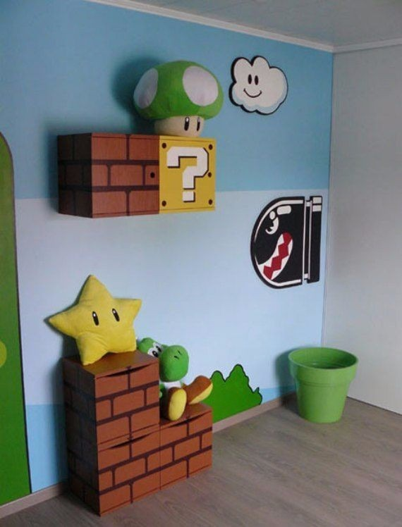 Decoracion Cuartos Super Mario Bros - $ 10.000 en Mercado Libre