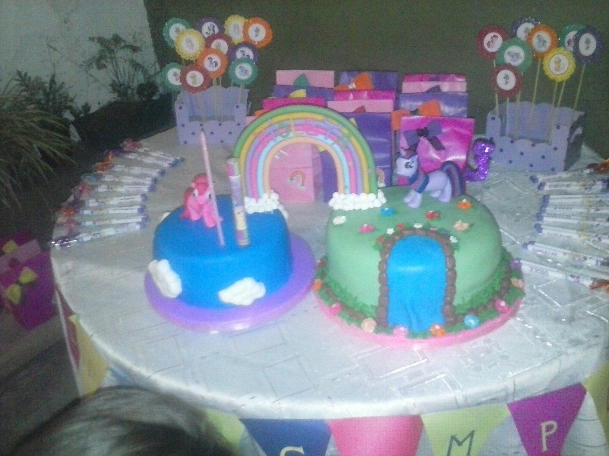 decoracion cumple tematico my little pony