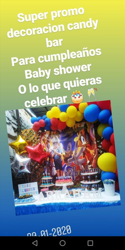 decoracion cumpleaños baby shower etc..