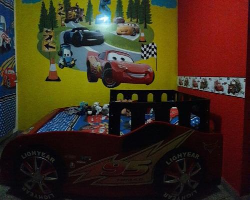 decoración de cuartos infantiles/ vinilos decorativos cars