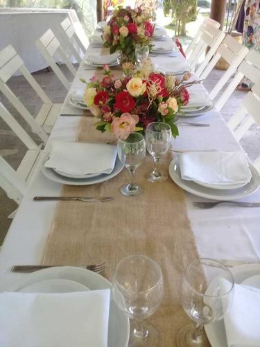 decoración de eventos, ambientaciones. (casamientos, etc)