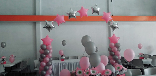 decoracion de eventos con globo