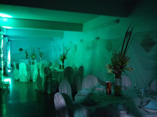 decoracion de eventos. telas, globos, arreglos florales