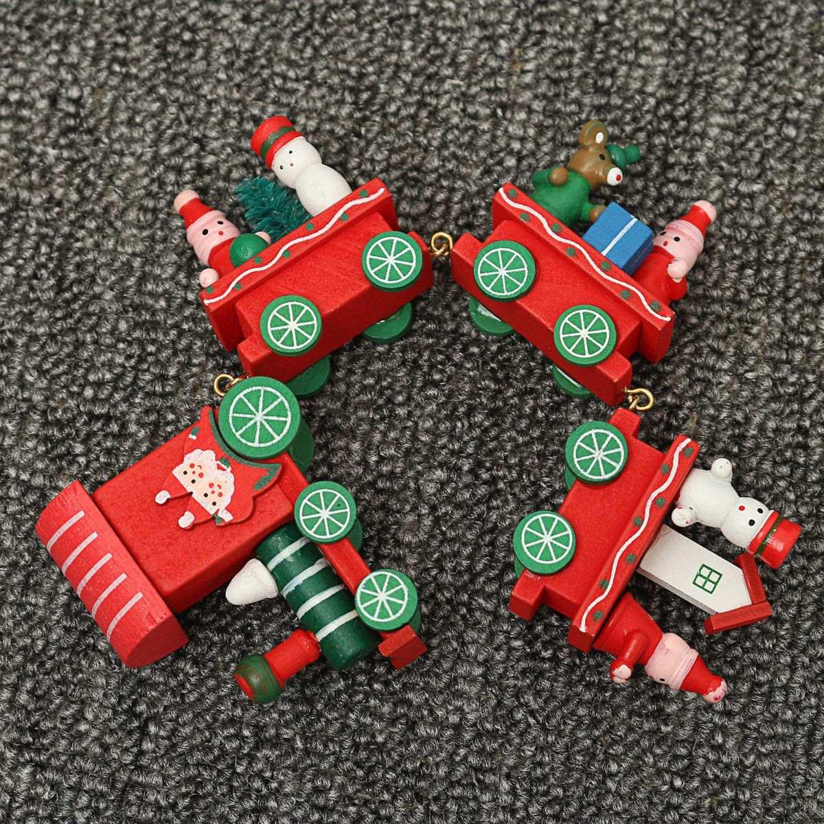 fbc08a29888 decoración de la casa de adorno de madera navidad... (red). Cargando zoom.