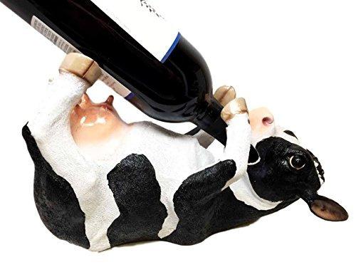 decoración de la cocina bovine brew holstein vaca vino de a