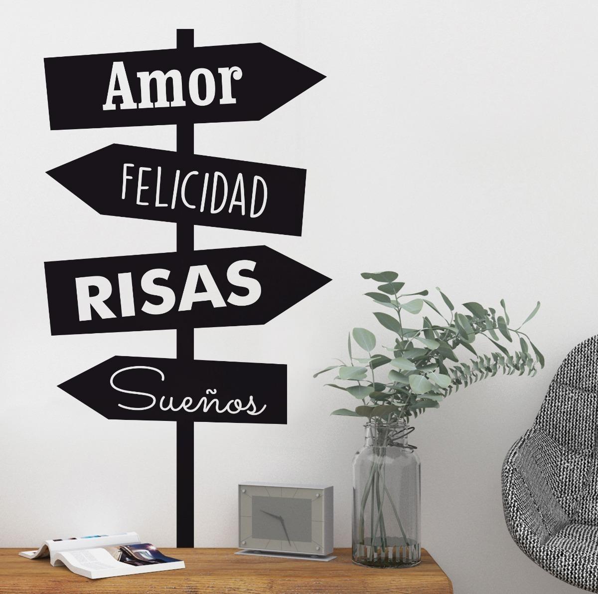 Decoracion De Living Con Frases Personalizadas Envio Gratis