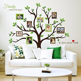 Como Decorar Un Arbol Genealogico.Decoracion De Pared Arbol Genealogico Familiar