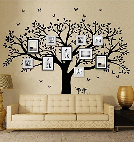 Decoracion De Pared Lskoo En Forma De Arbol Familiar 289550 En - Decoracin-de-pared