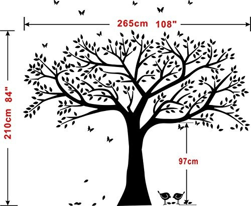 Decoración De Pared Lskoo En Forma De árbol Familiar 269550 En