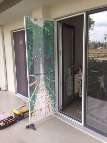 decoracion de pisos 3d y mosquiteros 3d