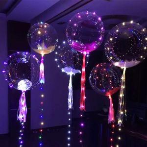 decoracion de salones en icopor letras iluminada y globos