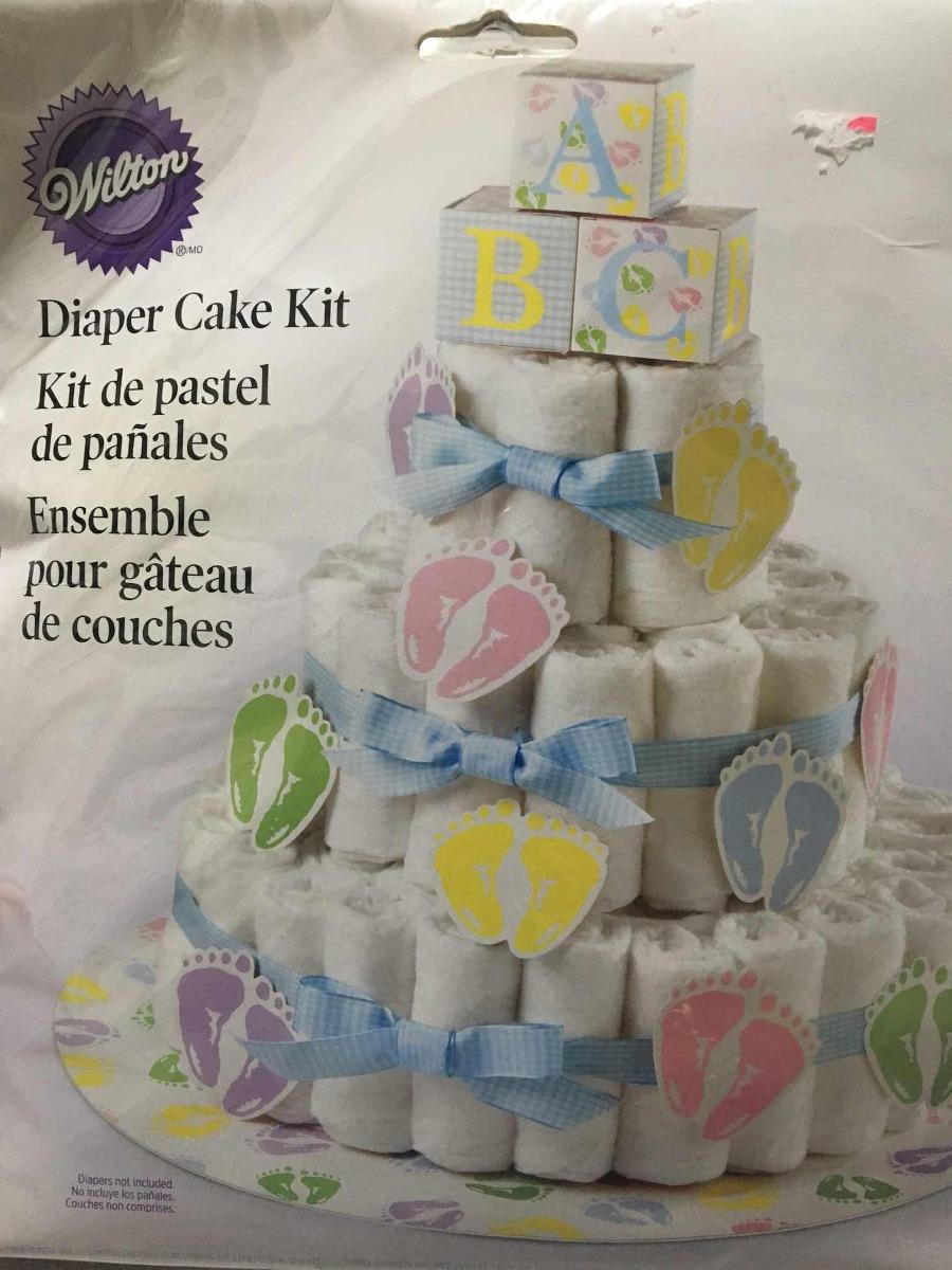 Decoracion De Torta De Toallas Baby Shower 26000 En Mercado Libre - Decoracion-con-toallas