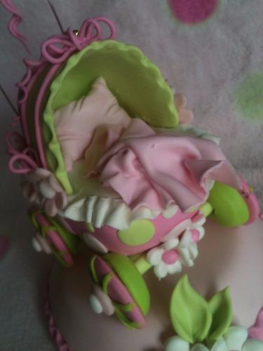 decoracion de torta para baby shower