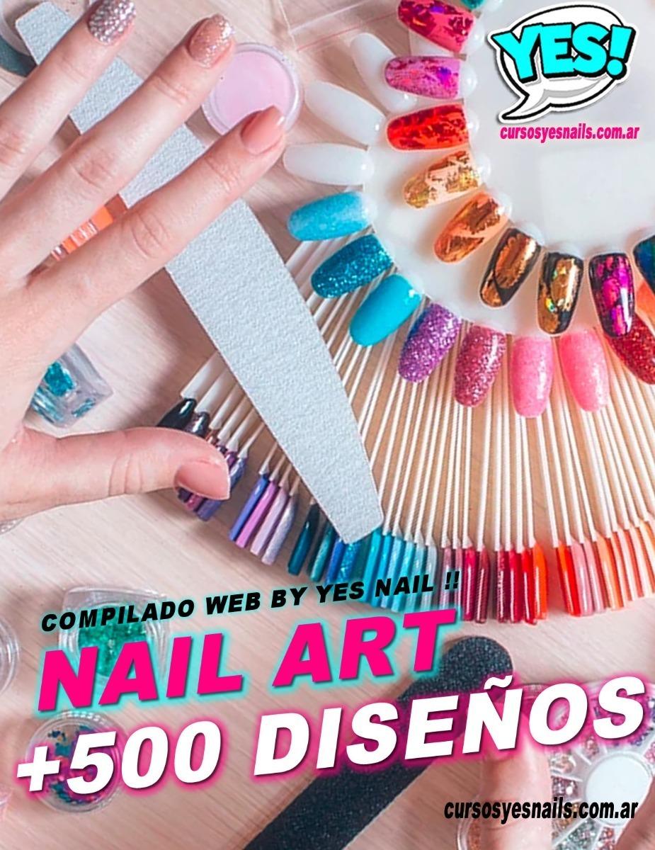 Decoración De Uñas Diploma 500 Diseños Nail Art Yes Nails