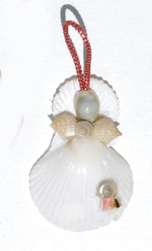 decoracion del arbol de las conchas artesania arte bahamas