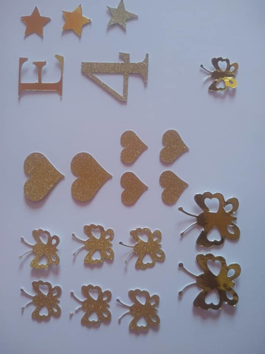 decoración en cartulina