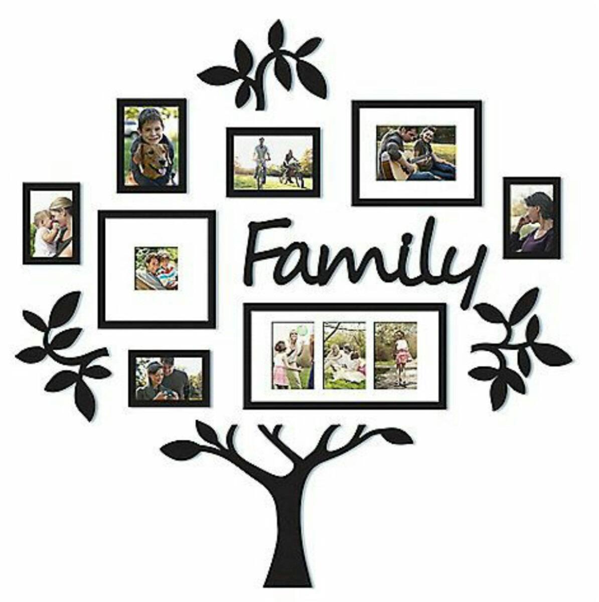 Decoracion en vinil arboles familiares en - Decoracion para foto ...