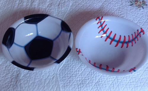 decoración fiesta (bandejas/ envases). pelotas