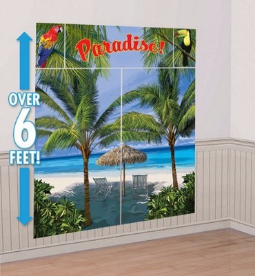 decoracion fiesta hawaiana