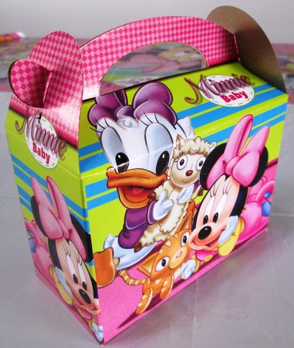 decoración fiesta infantil - minnie baby (11 artículos)
