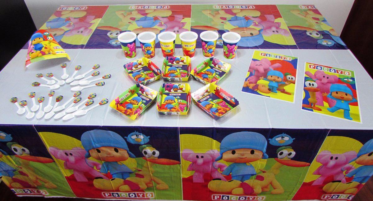 Decoraci n fiesta infantil pocoyo 11 art culos 48 Articulos de decoracion