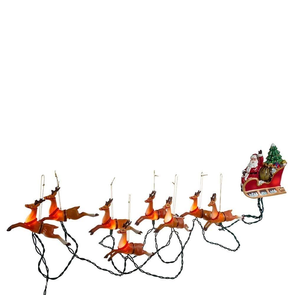 bfc31e9c45d Decoración fiesta navidad iluminación luces trineo renos cargando zoom jpg  1000x1000 Luces led trineo de para