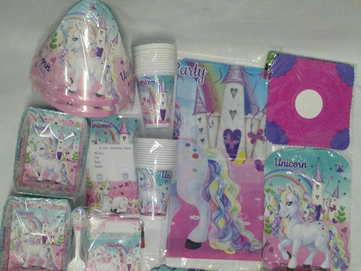 Decoracion Fiesta Unicornio X24 37 000 En Mercado Libre