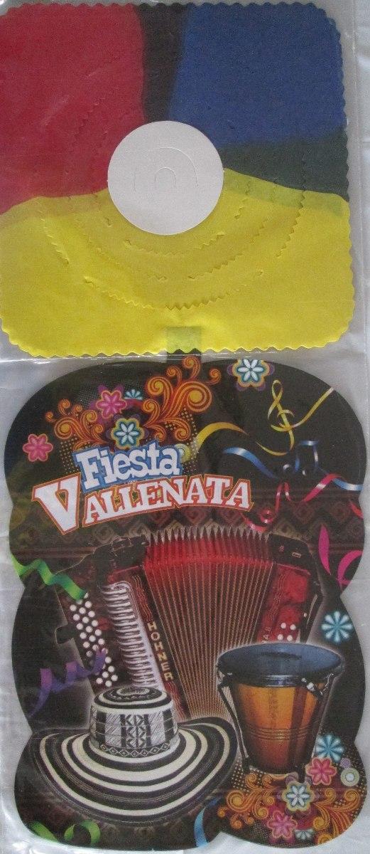Decoración Fiesta Vallenata 8 Artículos