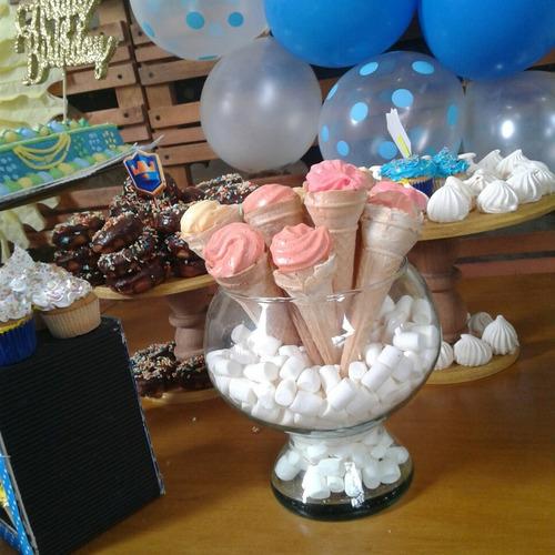 decoración fiestas infantil baby showers  mobiliario paleta