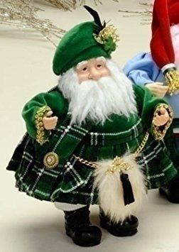 decoración figura internacional irlandesa de navidad de san