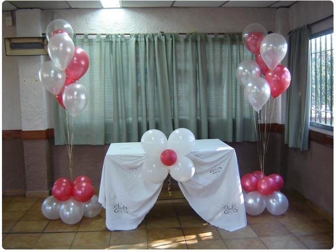 Hacer decoracion con globos affordable para cualquier - Como hacer decoracion con globos ...